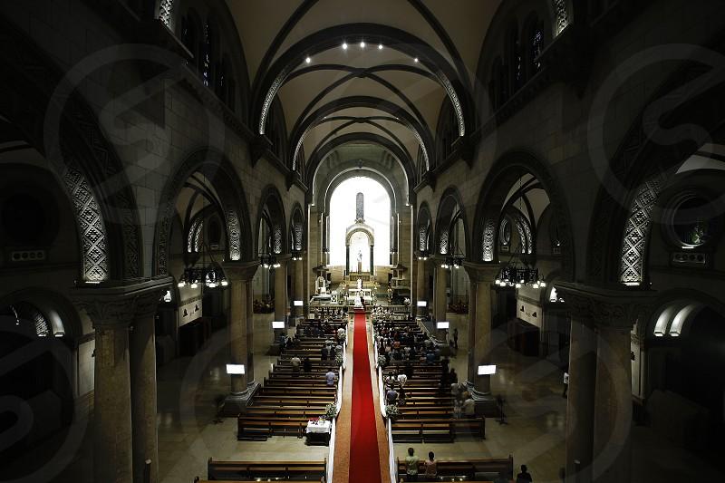 inside manila cathedral photo