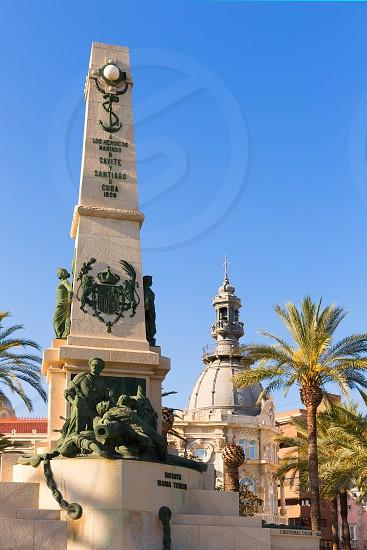 Cartagena Murcia Cavite heroes park memorial in Spain photo