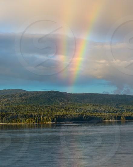 Double Rainbow Alaska photo
