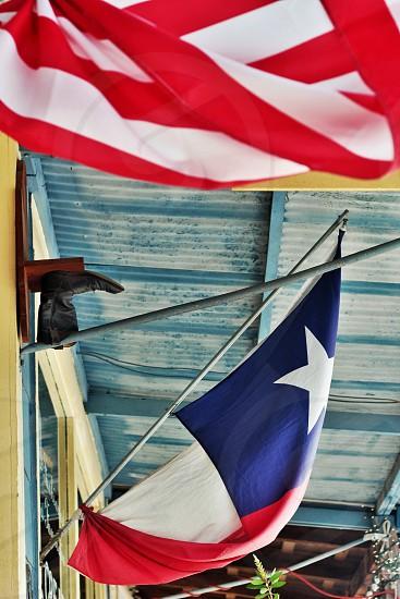 flag texas texas flag boot rustic photo
