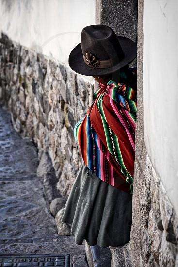 Portrait without a Face - Peru photo