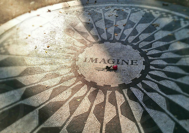 john lennon memorial photo