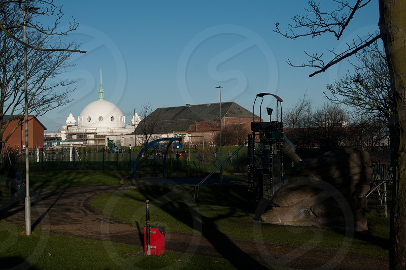 Park and Spanish City Dome in Whitley Bay photo