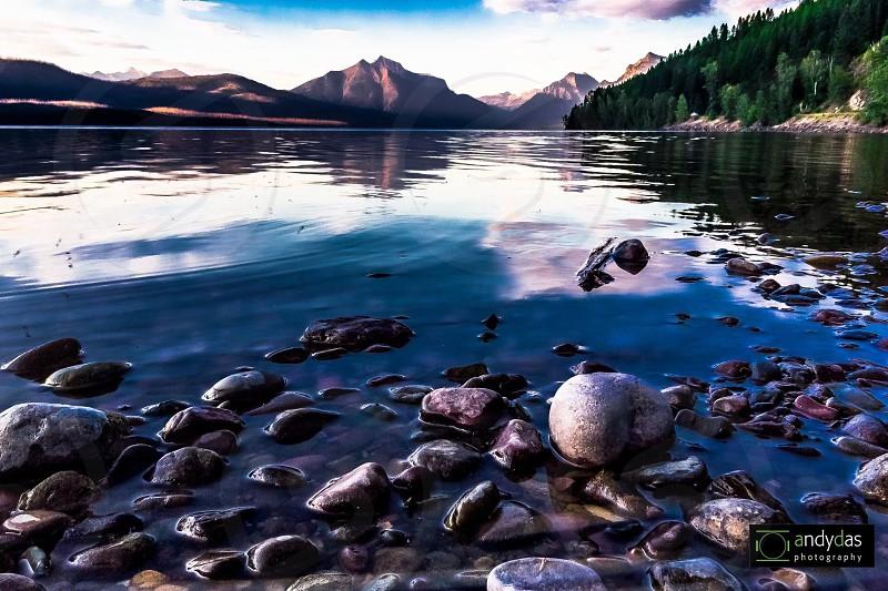 Lake McDonald St. Mary Montana photo