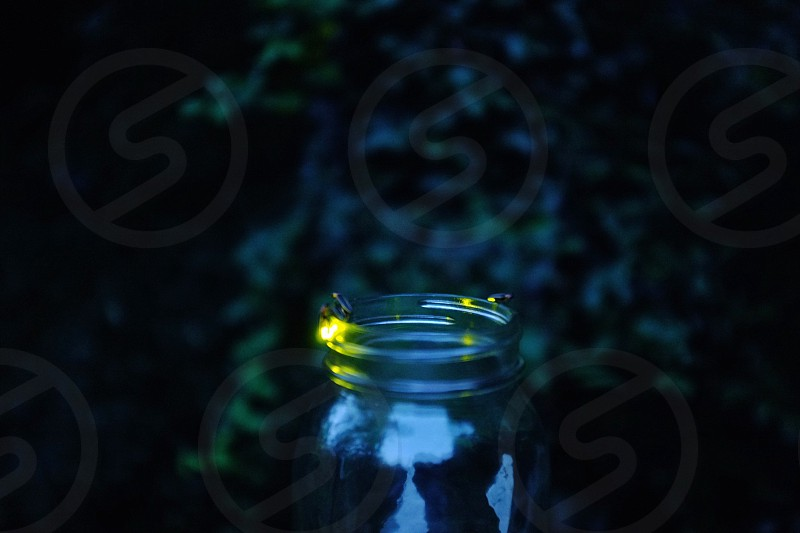 clear glass jar photo