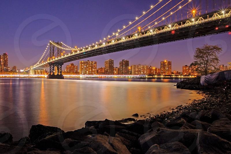 Manhattan bridge dreamscape photo