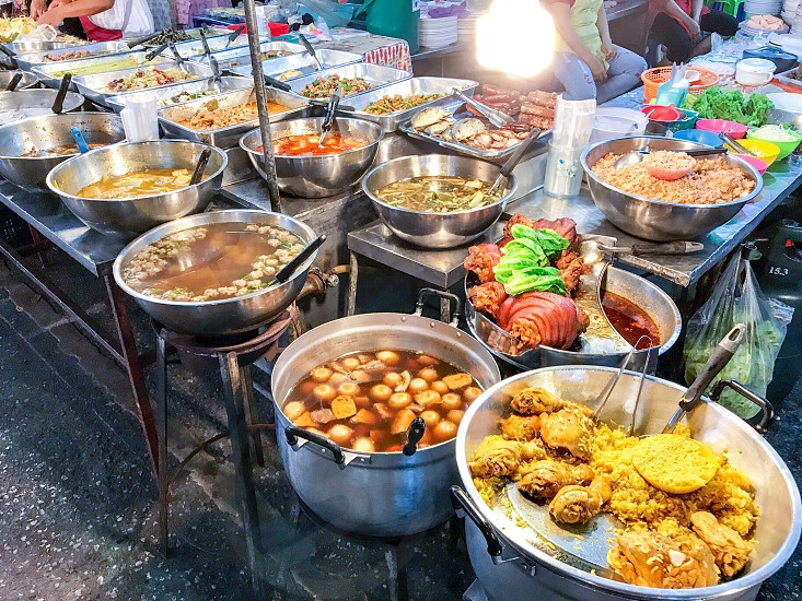 food snack eat eating edible recipe cuisine culinary tasty delicious yummy dish plate breakfast lunch dinner meal diet dining dessert culture cooking cook local meat pork chicken sauce seasoning spicy sweet sour Thai Chinese Japanese exotic street photo