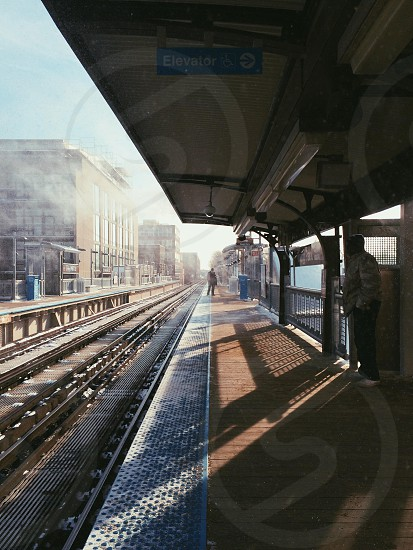 train port view photo