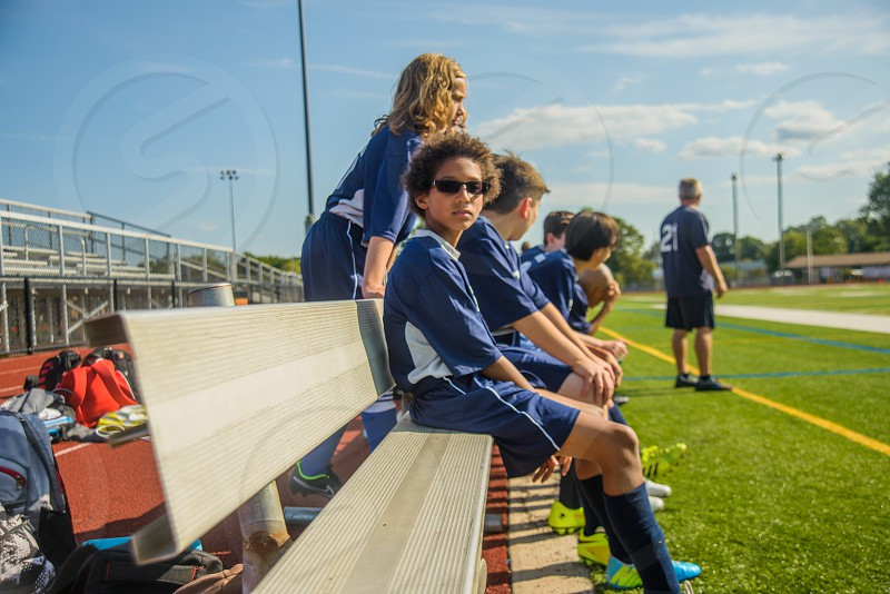 Soccer  practice photo