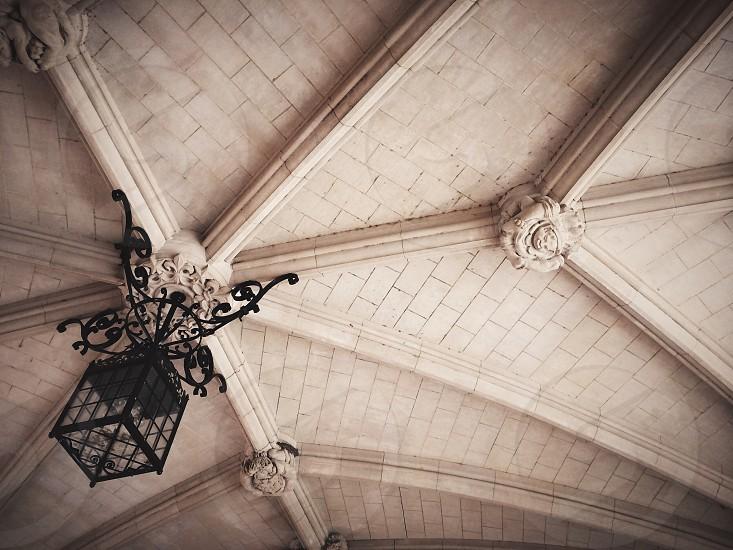 Architecture building arches light lamp gothic photo
