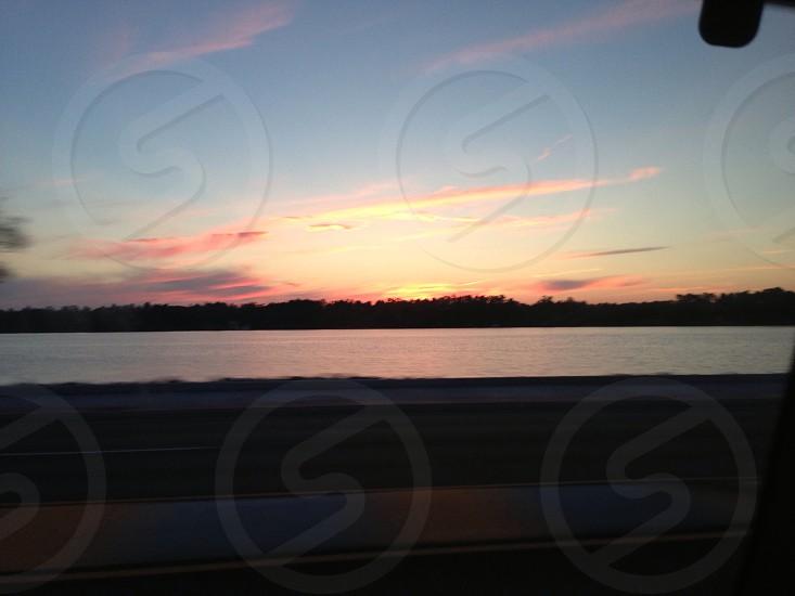 Sunset in Minoqua Wisconsin photo