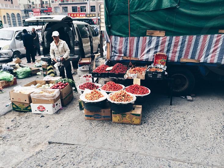 Cherries or berries? photo
