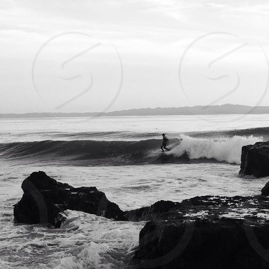 Wave surfer photo
