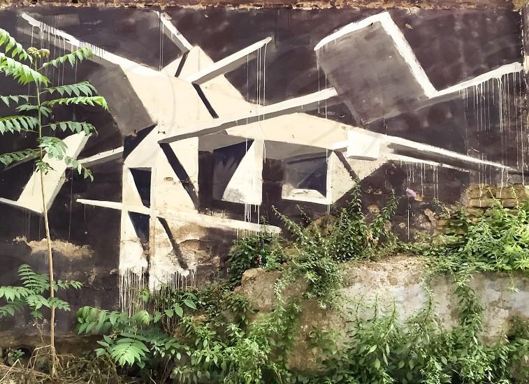 Street art in Pigneto neighborgood rome photo