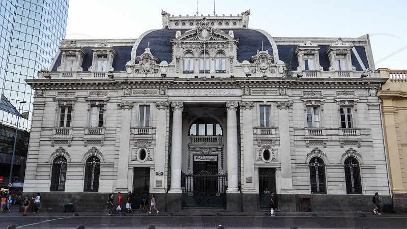 Plaza de Armas - Santiago Chile photo