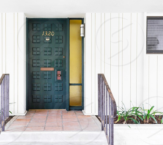 Front door entry apartment lifestyle modern architecture design  photo