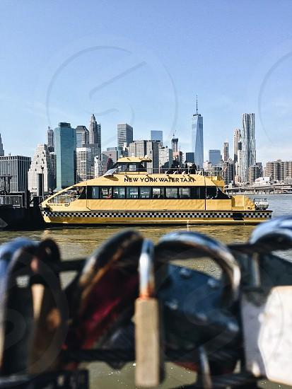 New York NYC Manhattan cityscape skyline photo
