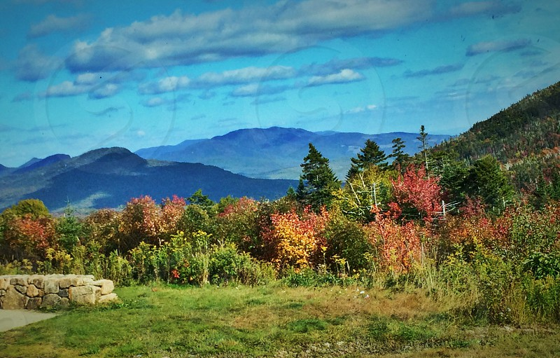 Fall landscape photo