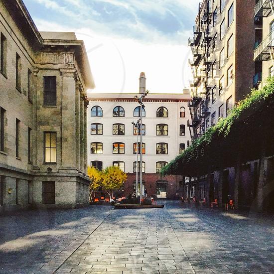 City plaza photo