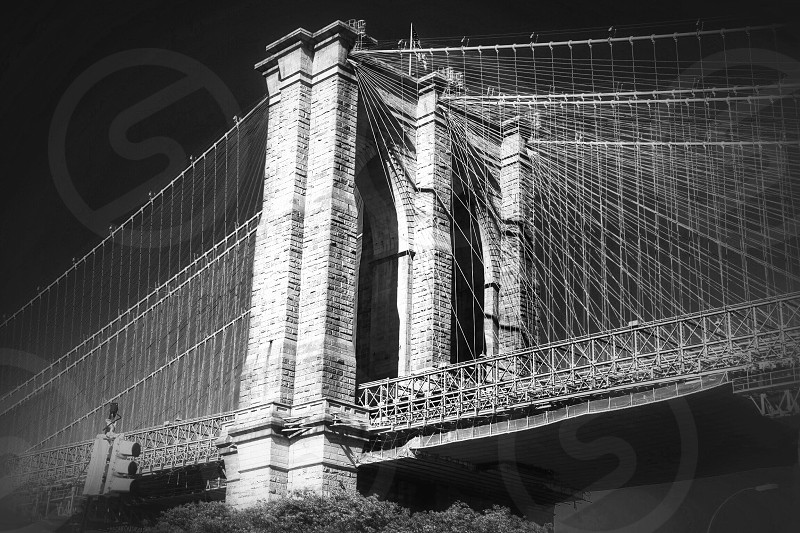 Brooklyn bridgeManhattanNew YorkUSAbwiconiclandmarkarchitecture photo