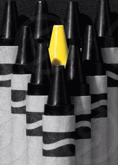 black crayon photo