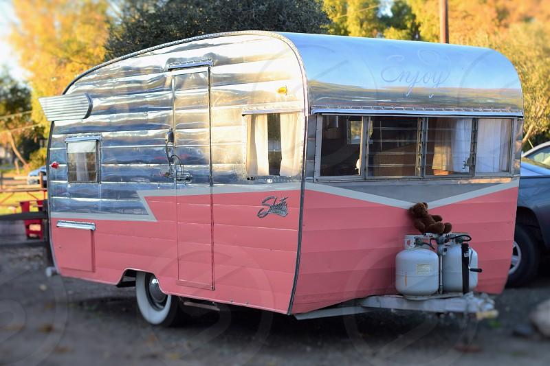 Vintage camper photo