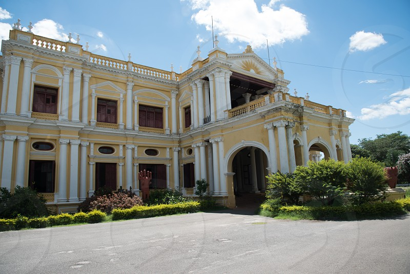 Might require a property release since it is located in the Mysore state University grounds photo