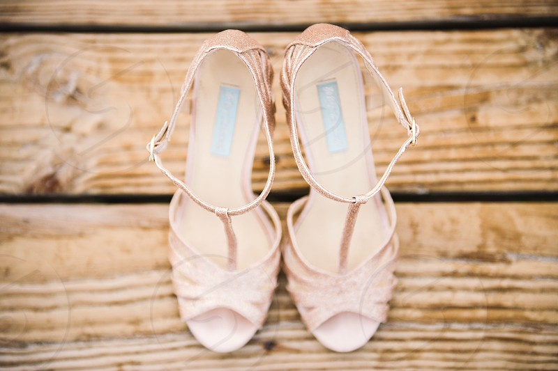 Wedding heels photo