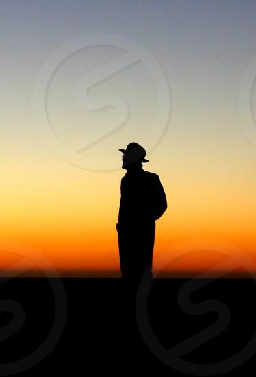 Man in hat photo