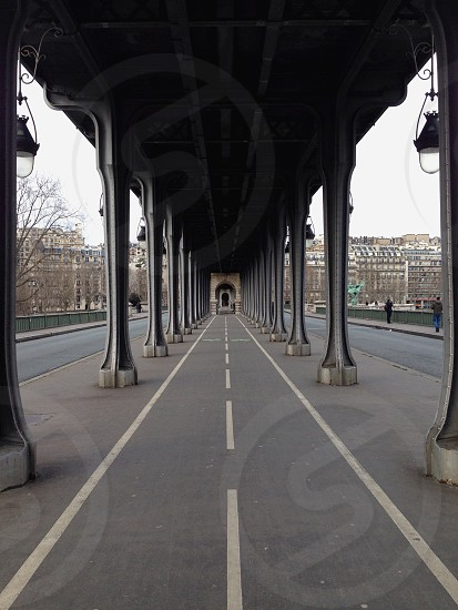 underpass roadway photo