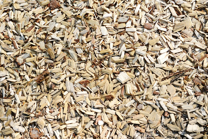 fullframe background of wood chips photo