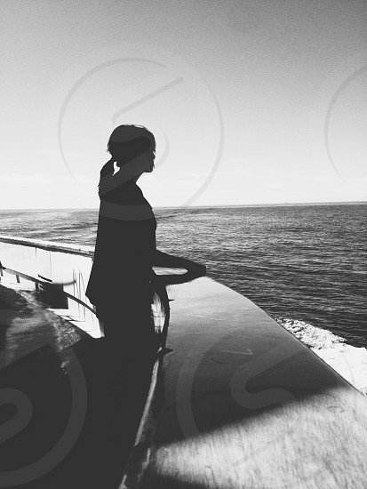 alone at sea photo