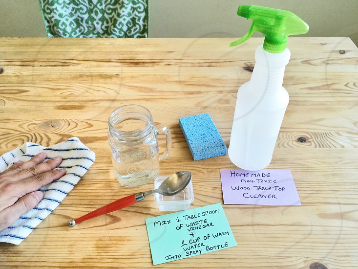 Natural Homemade Cleaning photo