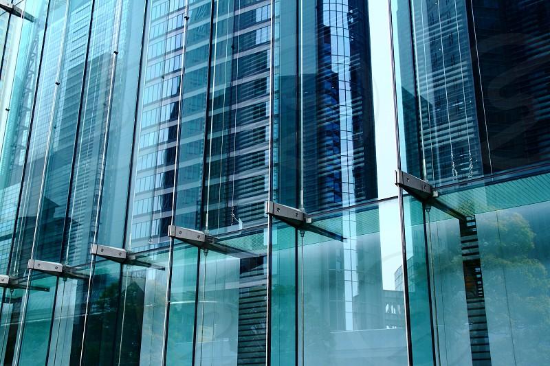 ブルーガラス photo