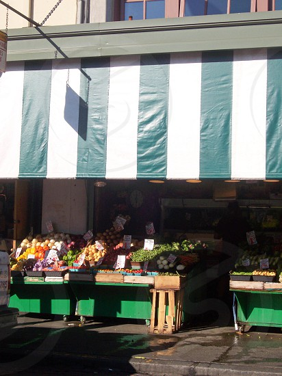 A market Seattle Washington photo