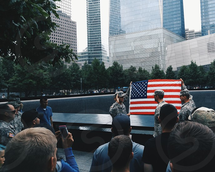 9/11 Memorial New York City New York photo