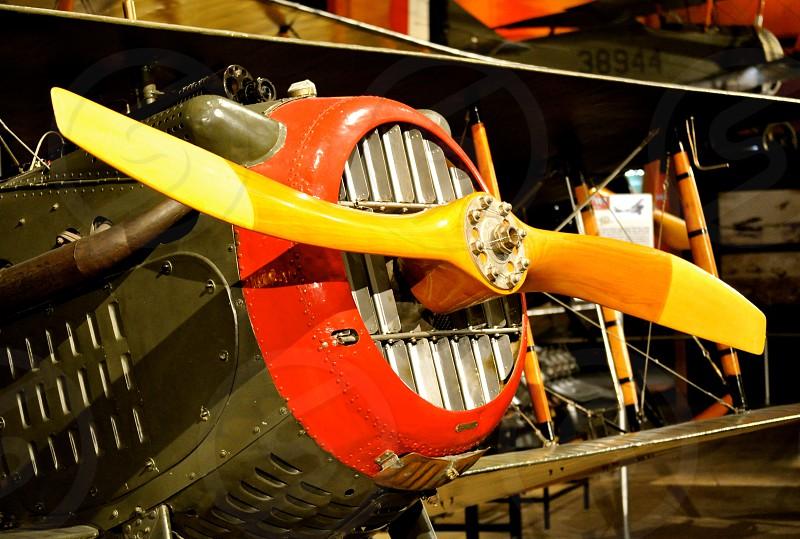 Historic Plane - US Air Force Museum - Dayton Ohio photo