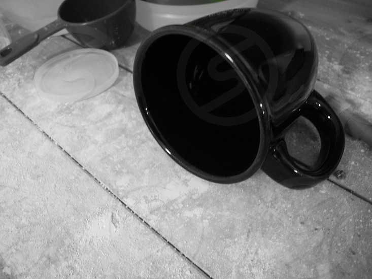 kitchen mess photo
