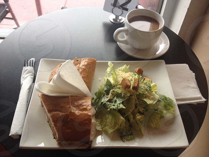 Coffee and Sandwiches at Blue Danube photo