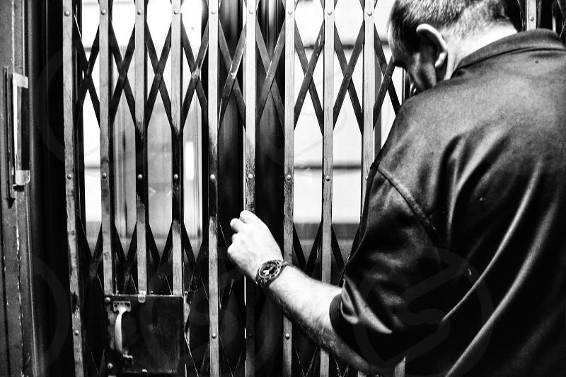 Old Fashioned Elevator   photo
