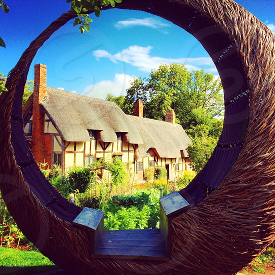 Anne Hathaway's Cottage Warwickshire England.  photo