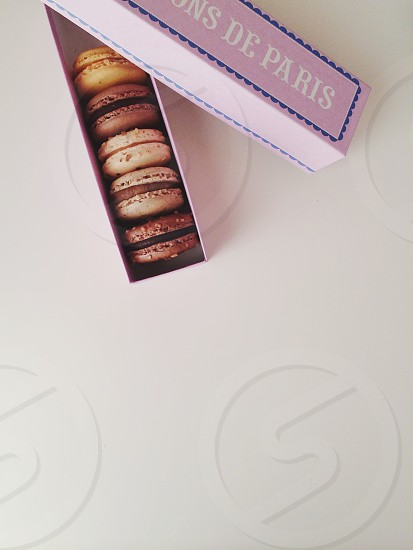 french macaroons photo