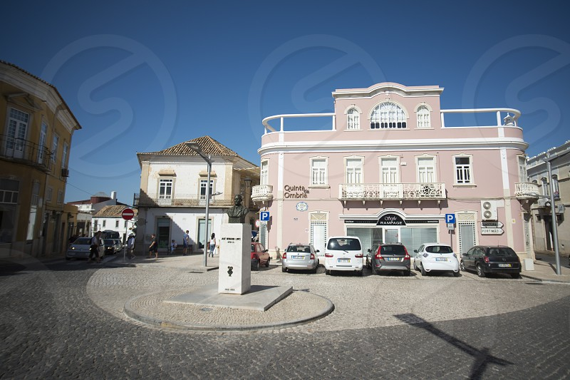 the town of Loule in the Algarve in the south of Portugal in Europe. photo