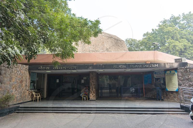 Nehru Planetarium in new delhi India photo