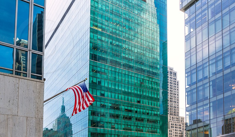 Manhattan New York city Sixth Avenue Las Americas 6th Av NYC US photo