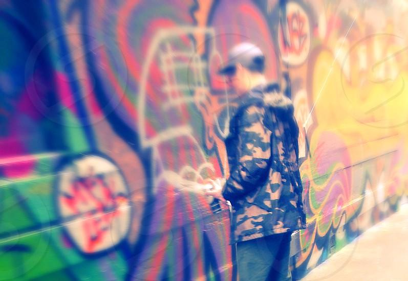 graffiti street art moment shot color design create express fun photo