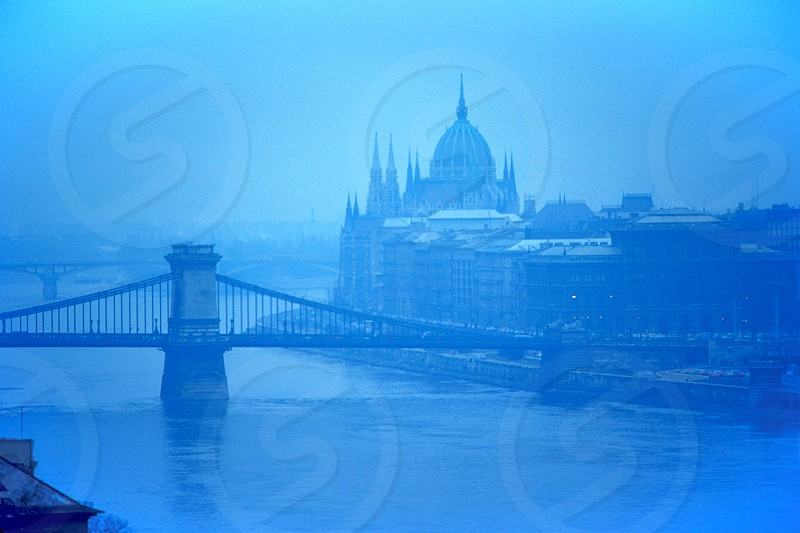 Budapest on the Danube River photo