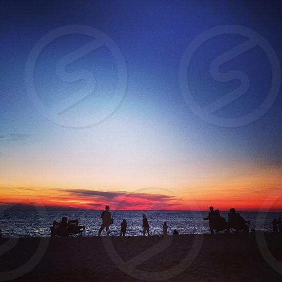 Sunset beach - Cape May NJ photo