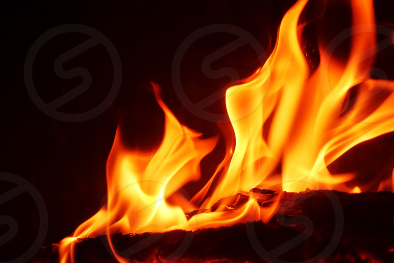 fire flame flames fires hot burning photo