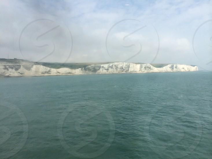 White cliffs of Dover photo